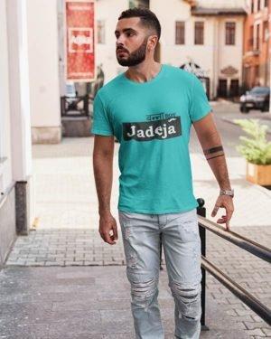 Banna Boy Jadeja Rajasthani Pure Cotton Tshirt For Men Blue